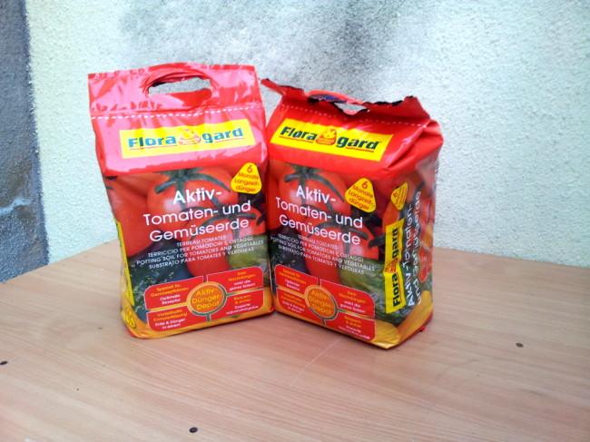 Tomatenanzuchterde von Floragard